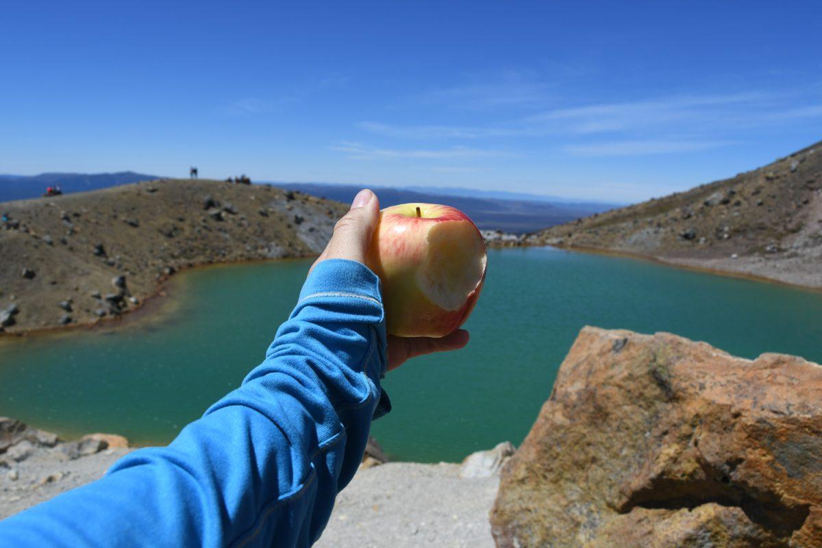 Apples at Mountain Lakes Fresh Fruit on Hikes