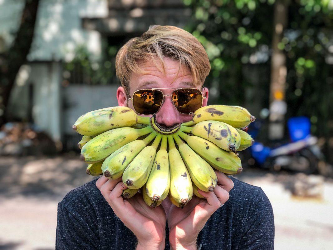 Bananas Hiking Snacks