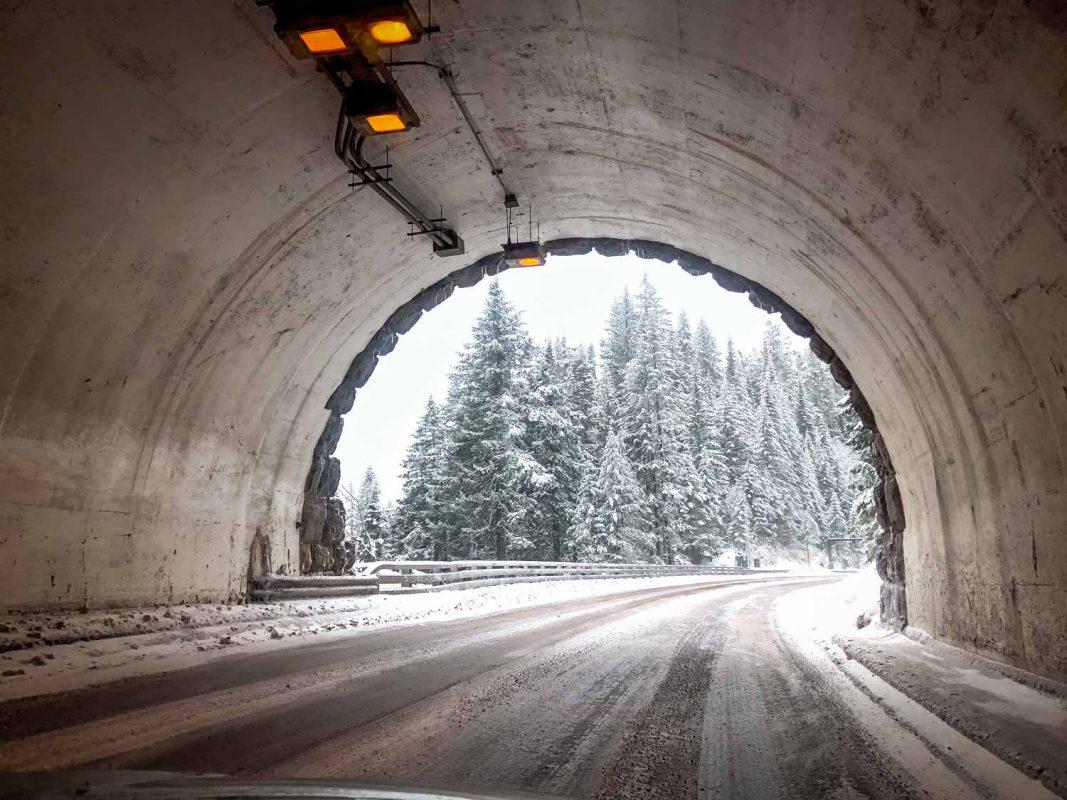 McCredie Hot Springs Highway Tunnel