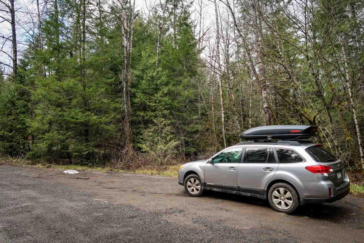 McCredie Hot Springs Parking Spot
