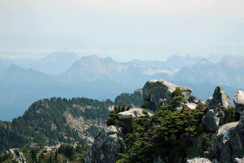Hiking around Mount Pilchuck Lookout Hikes in Washington State