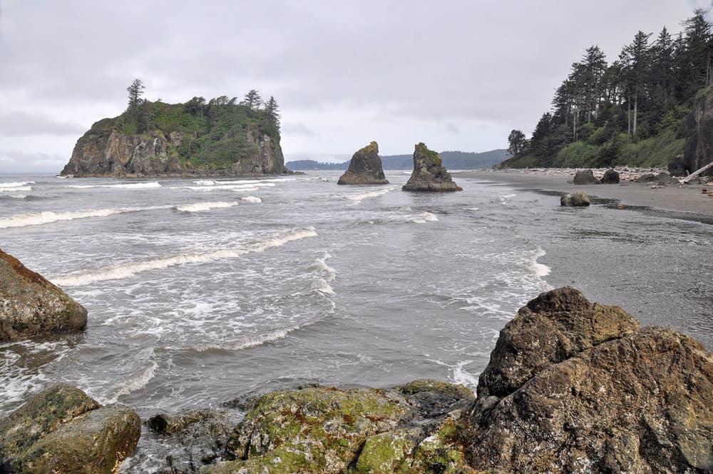 Hiking around Ruby Beach Best Hikes in Washington State
