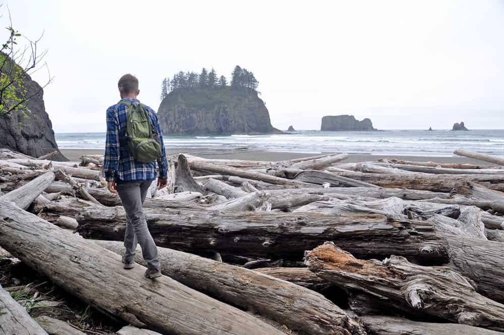 Hiking around Second Beach Best Hikes in Washington State