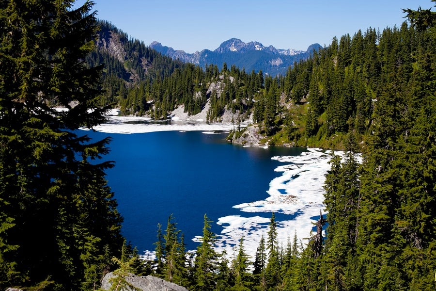 Hiking around Snow Lake Trail Best Hikes in Washington State