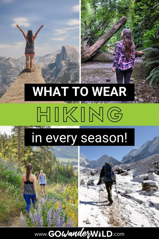 What to Wear Hiking | Go Wander Wild