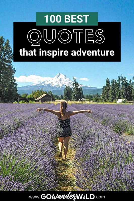 100 Best Adventure Quotes | Two Wandering Soles