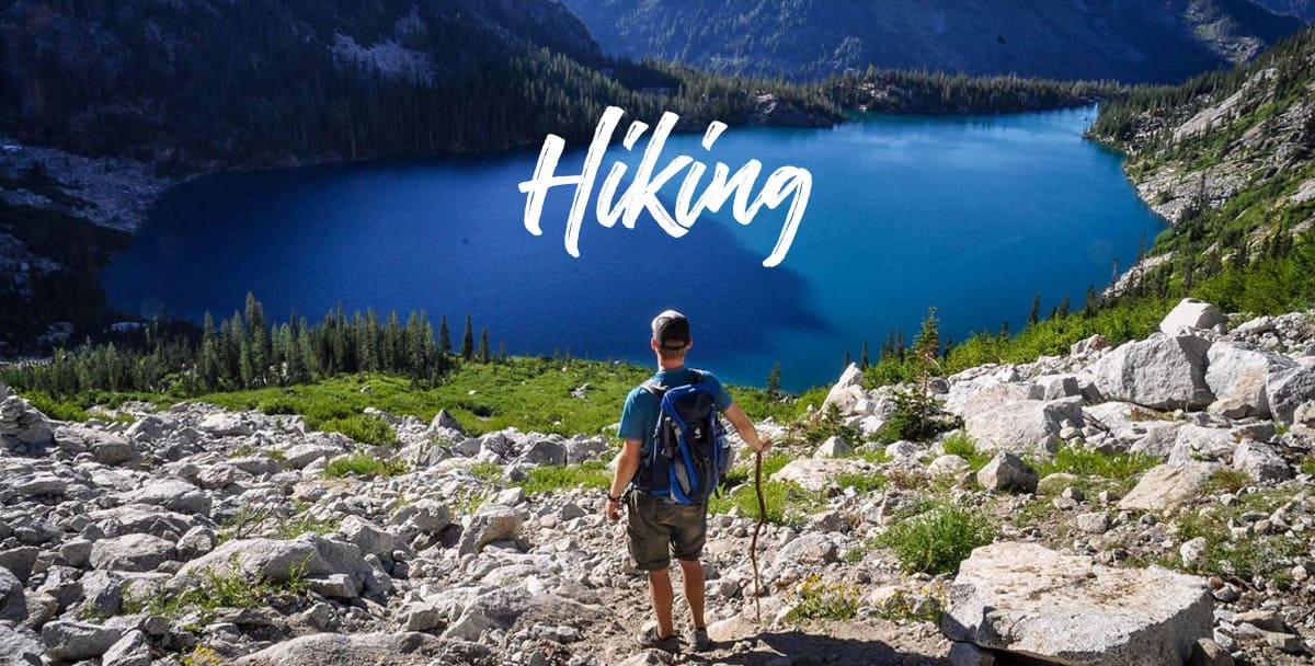 Go Wander Wild Hiking Banner