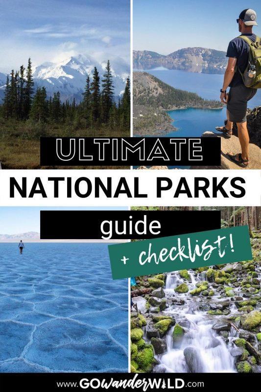 USA National Park Checklist | Go Wander Wild