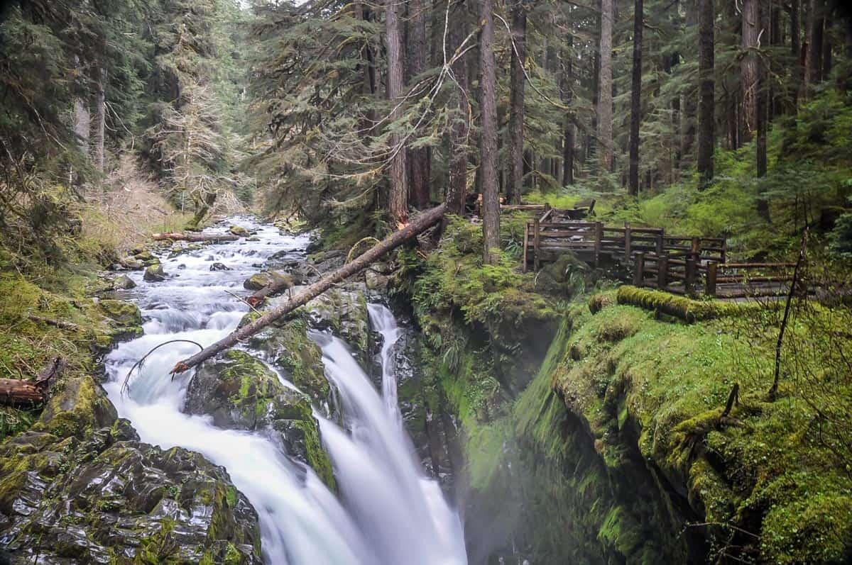 Sol Duc Main Falls