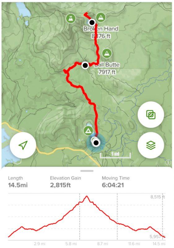Broken Top Trail Recording