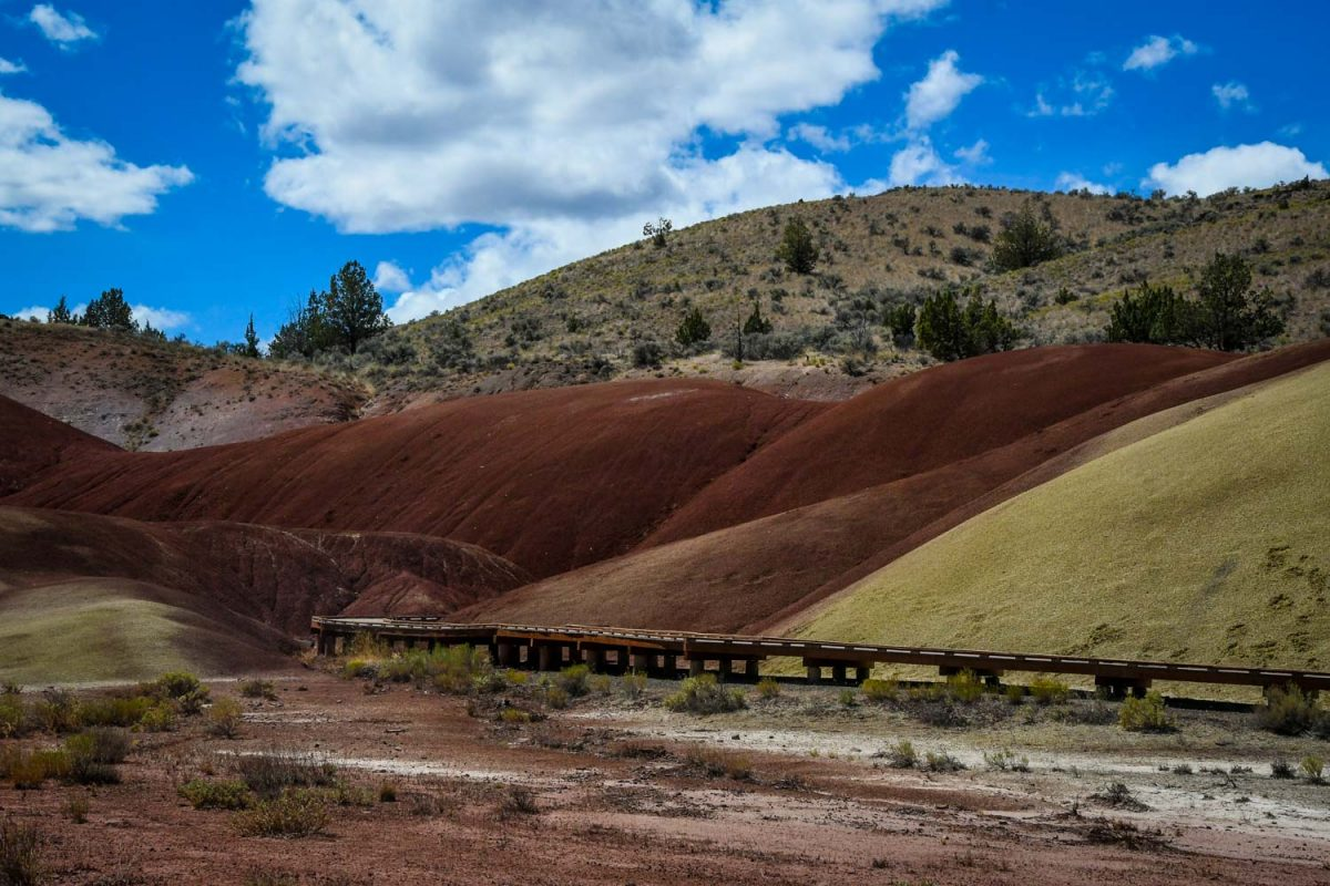 Painted Hills Oregon | Painted Cove Trail