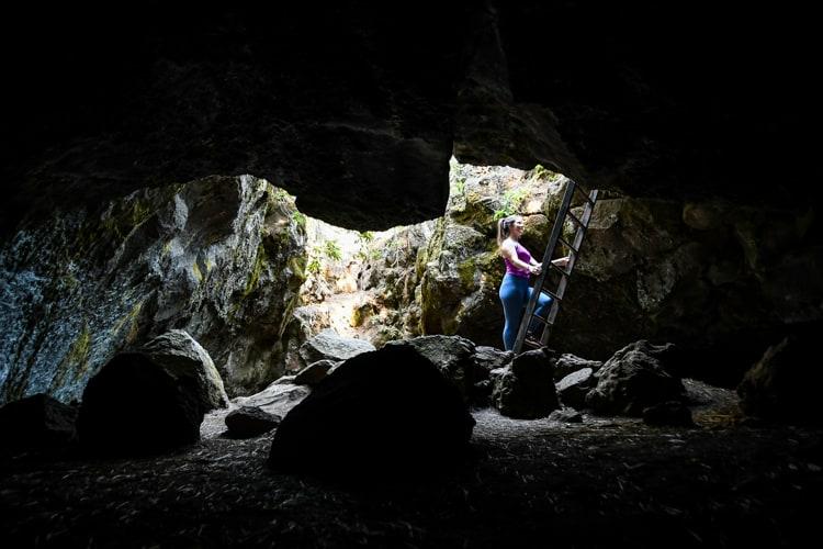 Skylight Cave Oregon Entrance