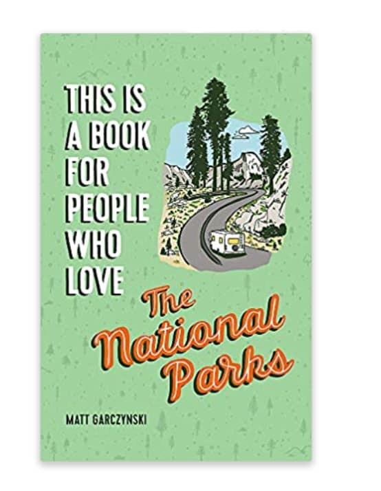 Gifts for Hikers | National Parks Book