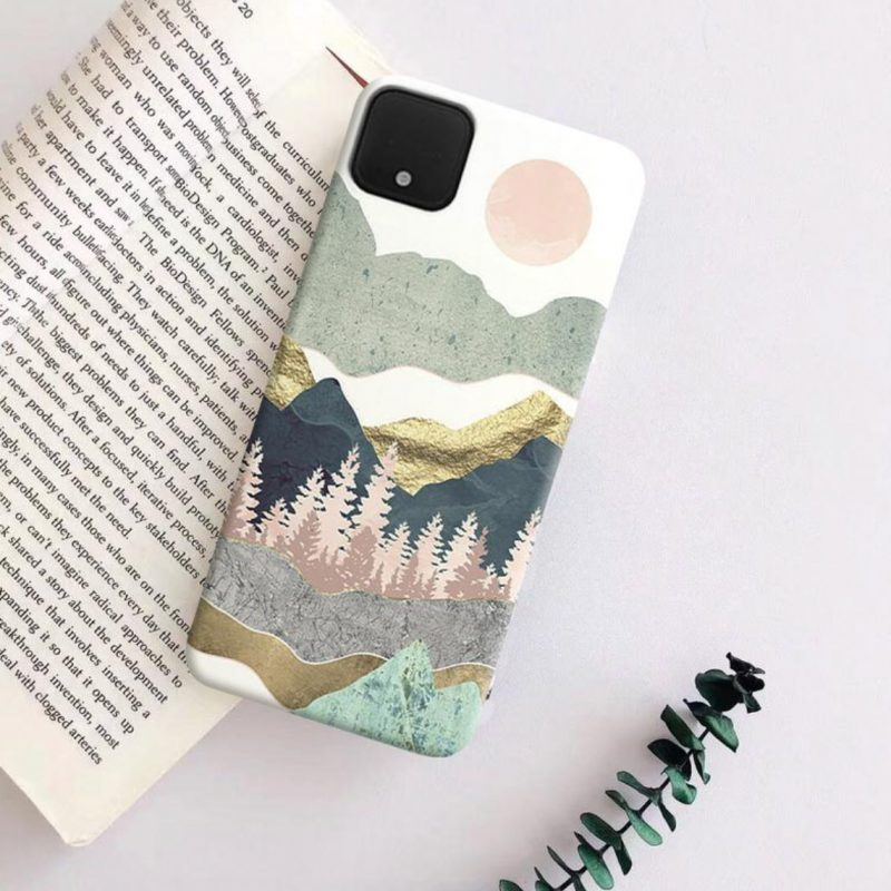 Gifts for Hikers | Mountain-scape Phone Case