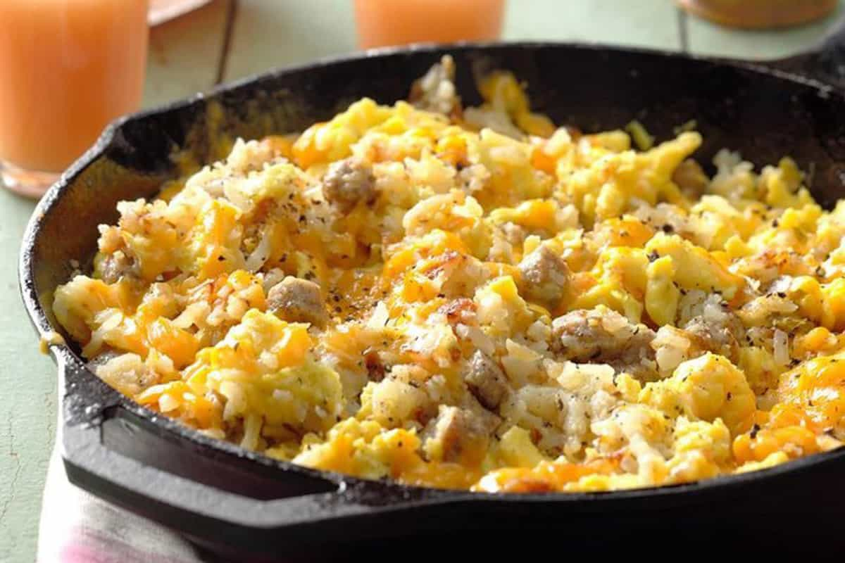 One-Pot Camping Meals: Camper's Breakfast Hash