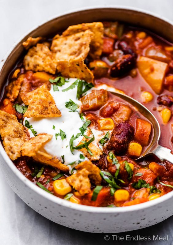 One-Pot Camping Meals: Vegetarian Chili