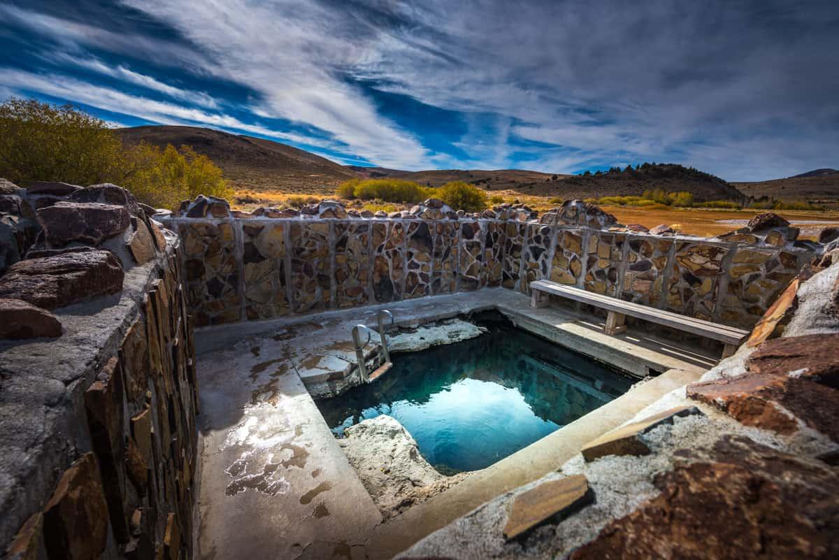 Hot Springs in Oregon: Antelope Hot Springs