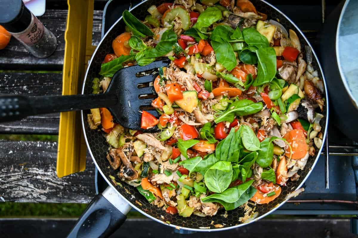 One-Pot Camping Meals: Thai Green Curry