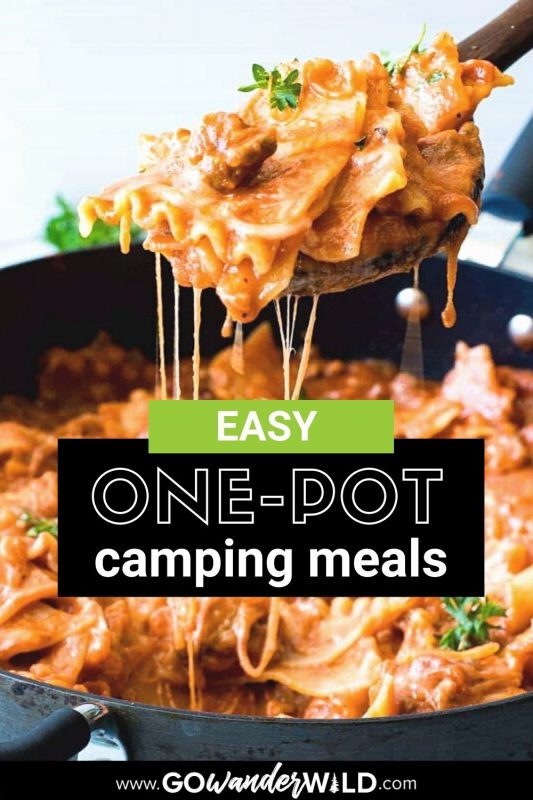 One-Pot Camping Meals | Go Wander Wild
