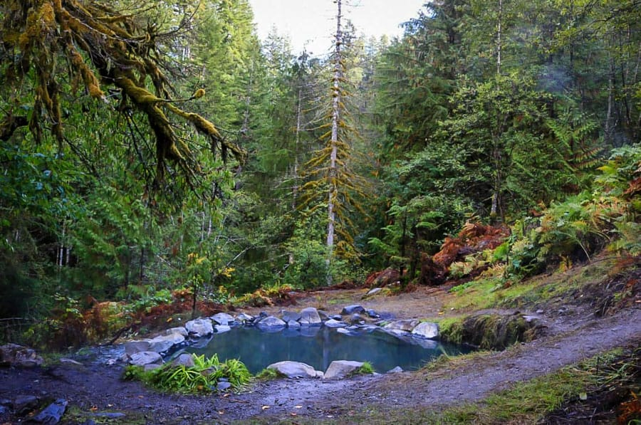 Best Washington Hot Springs: Gamma Hot Springs