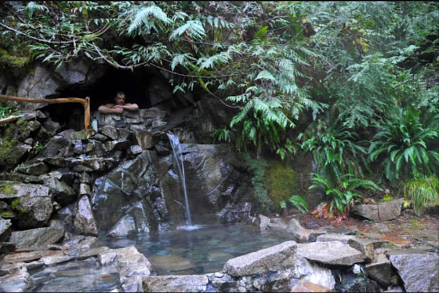 Best Washington Hot Springs: Goldmyer Hot Springs