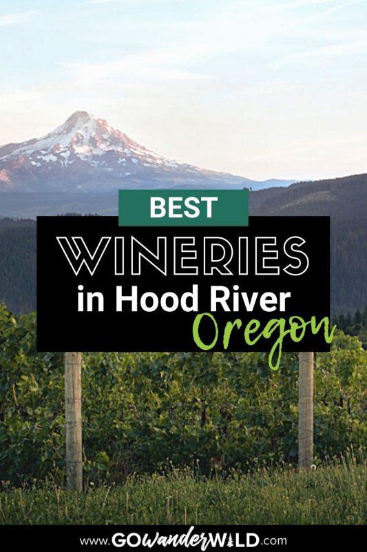 Best Hood River Wineries   Go Wander Wild