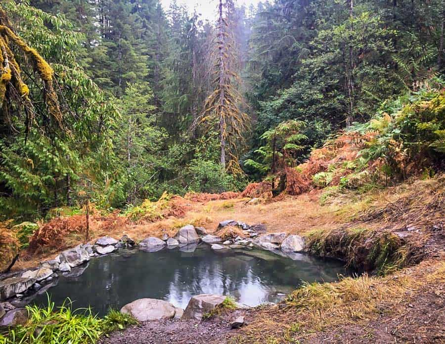 Best Washington Hot Springs: Olympic Hot Springs