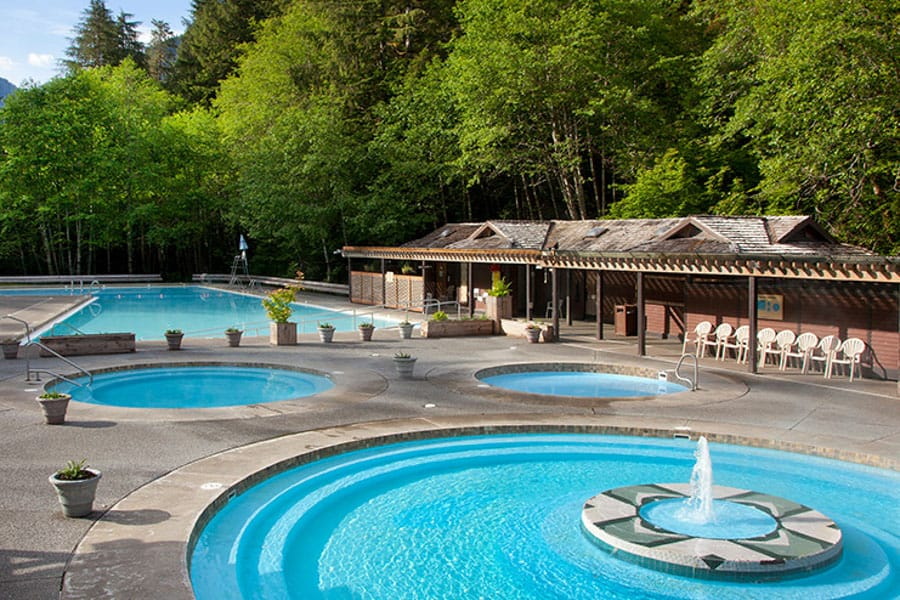 Best Washington Hot Springs: Sol Duc Hot Springs