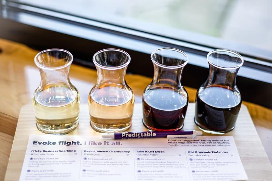 Hood River Wineries: Evoke Winery