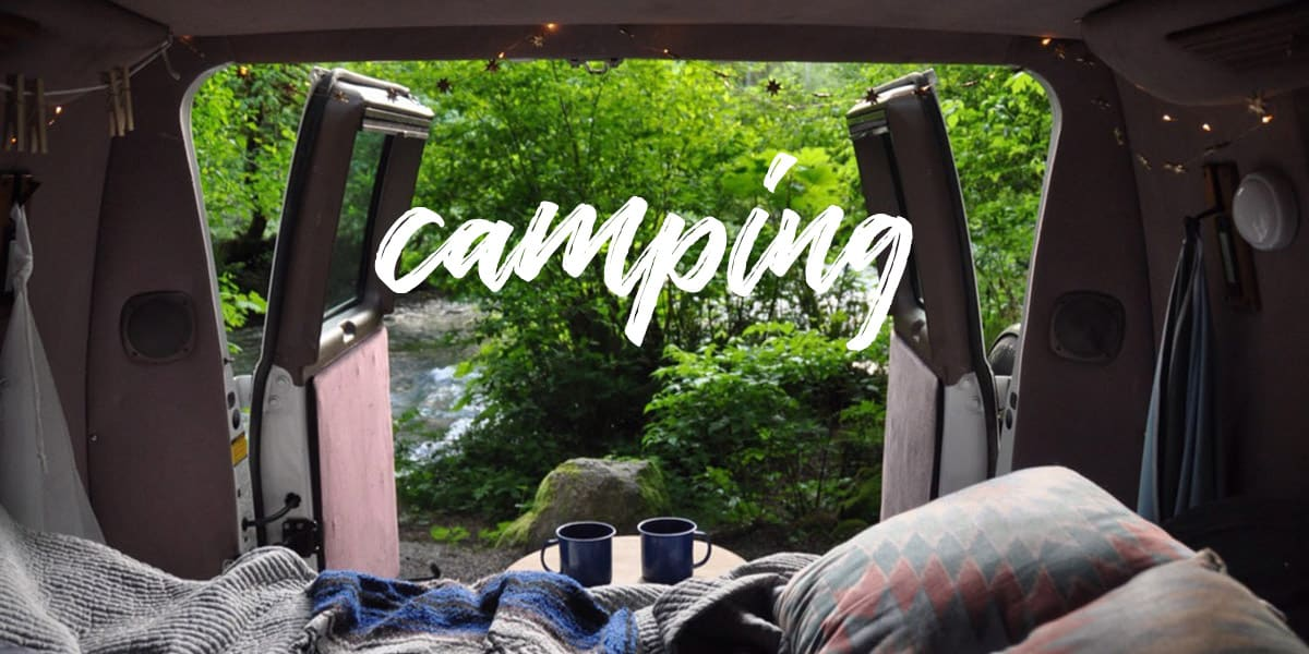 Go Wander Wild Camping Banner