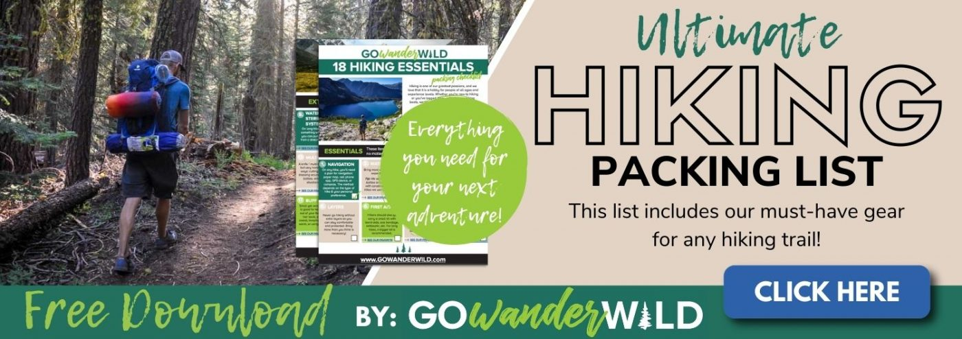 Hiking Packing List | Go Wander Wild